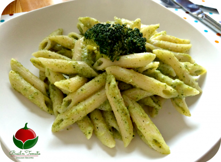 Penne con salsa ai broccoli – light