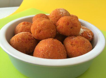 Polpette di peperoni vegetariane – 3 ingredienti