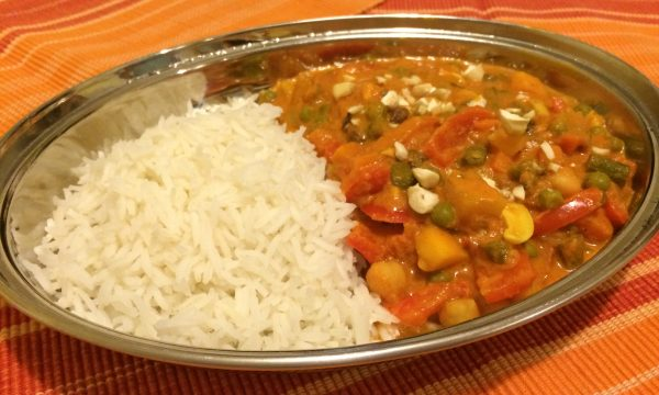 Navratan Korma – Ricetta indiana vegetariana