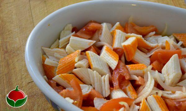 Polpa di granchio alla catalana – ricetta facilissima