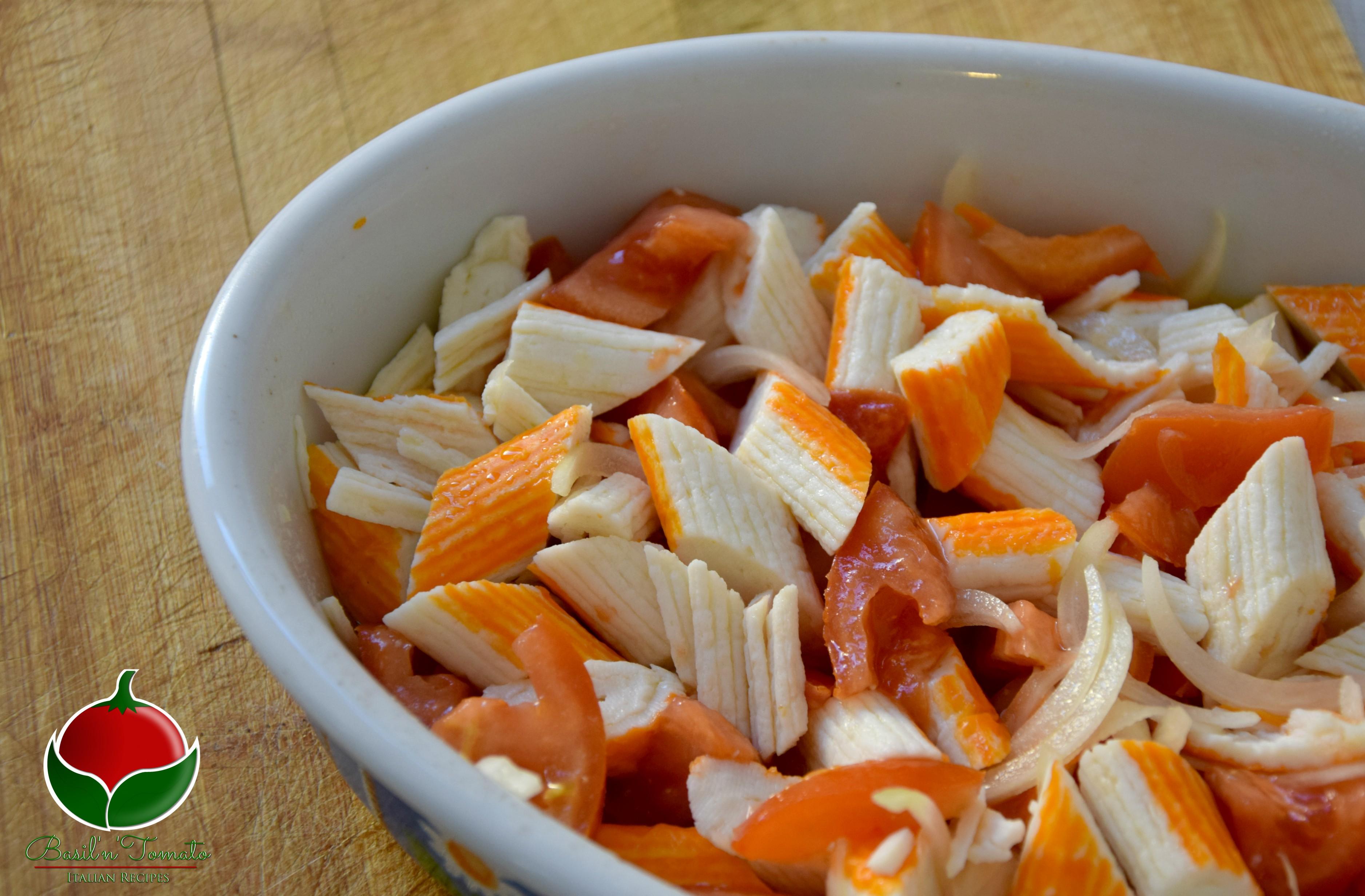 Polpa di granchio alla catalana - ricetta facilissima