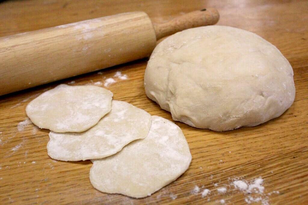 Pasta per ravioli fatta in casa