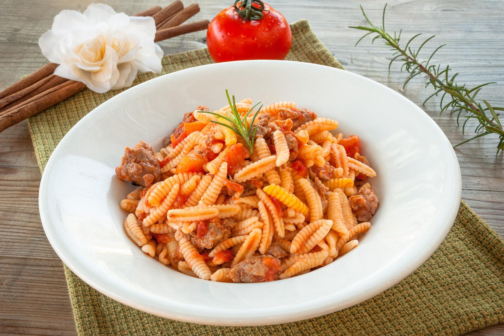Malloreddus alla campidanese, cucina della Sardegna