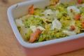 Lasagne di carasau salmone e zucchine