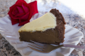 Torta mocaccina - caffe, cioccolato bianco e fondente