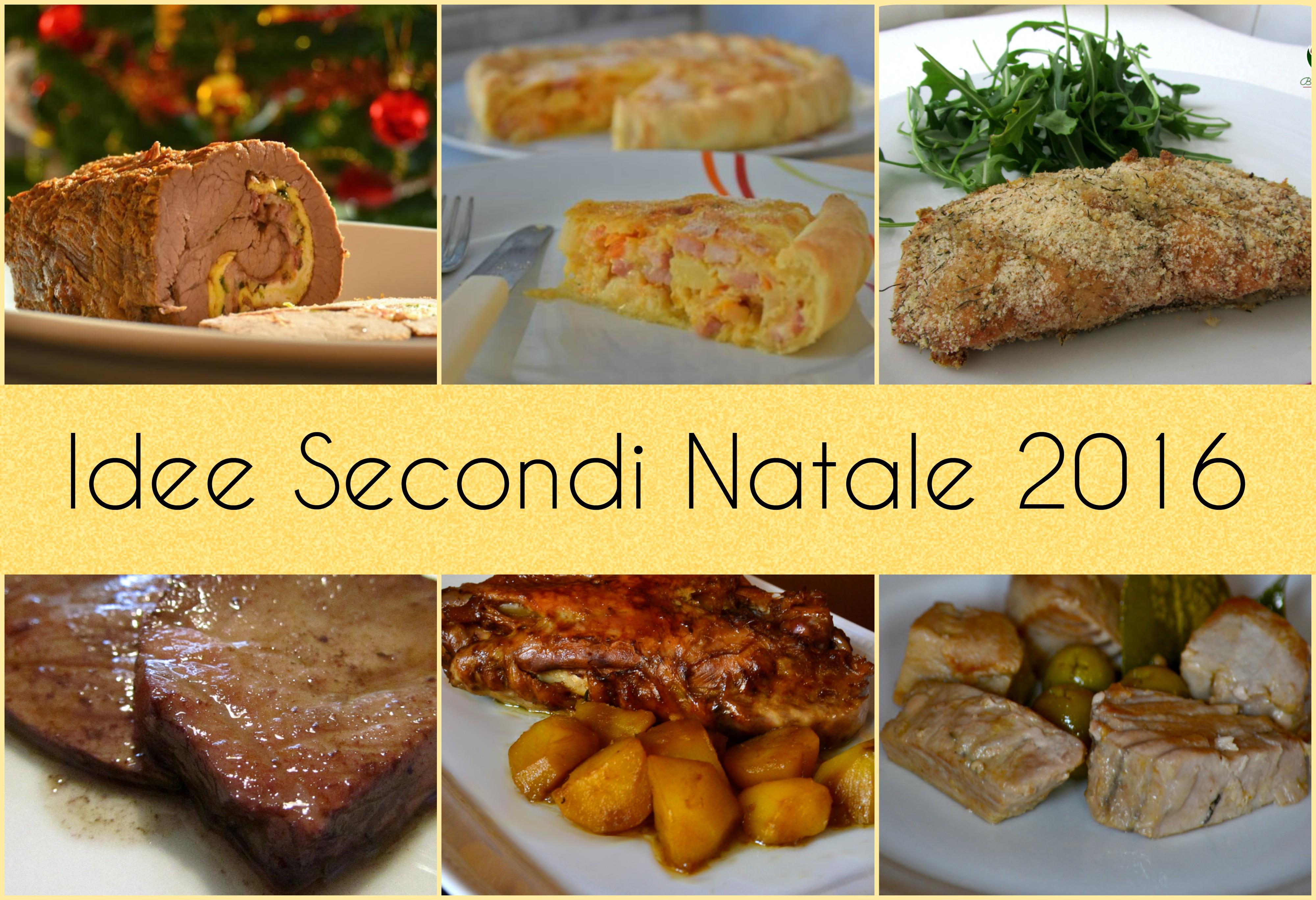 Idee secondi piatti Natale 2016 - raccolta ricette
