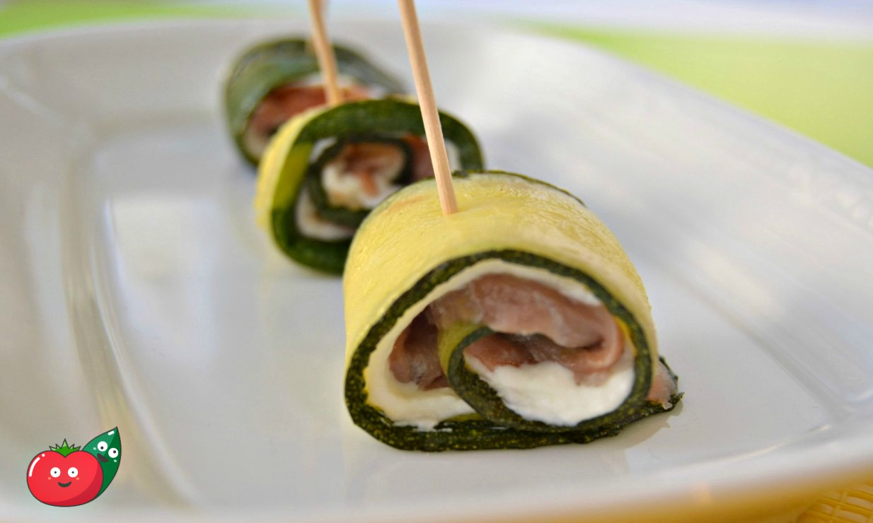rotolini di zucchine e salmone-2