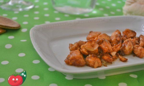 Bocconcini di salmone alla salsa di soia