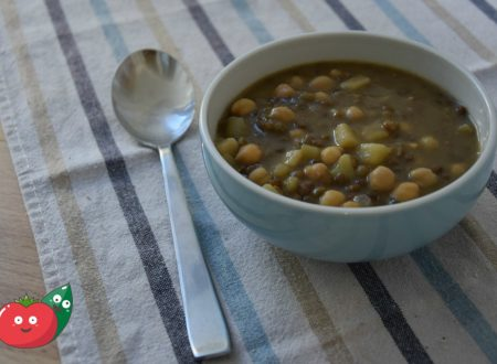 Zuppa di ceci e lenticchie
