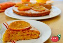 Torta di carote e arance – Senza uova né lattosio -Vegana
