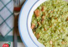 Risotto asparagi e salmone affumicato