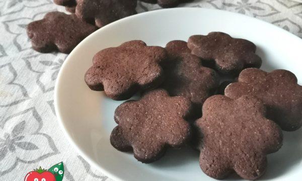 Biscotti al cacao ricetta semplicissima