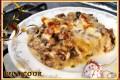 Lasagne ai funghi e salsiccia