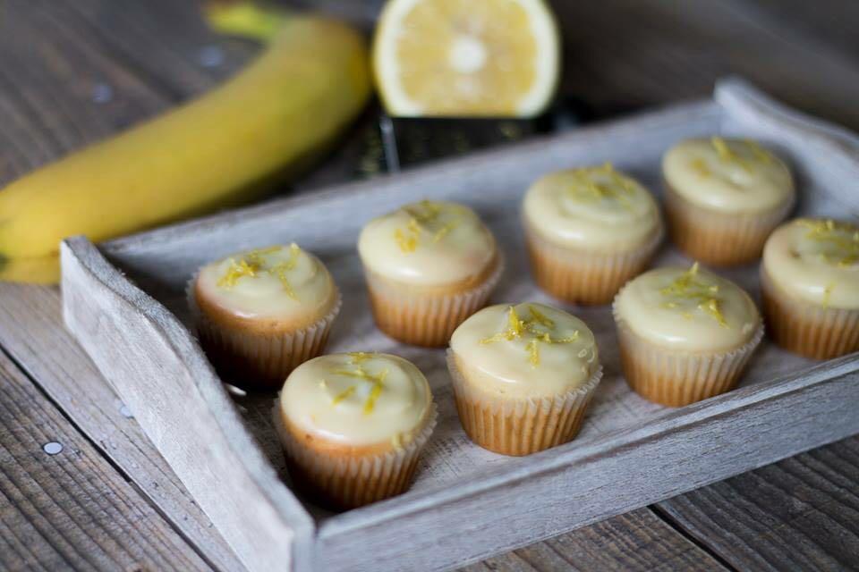 muffin banana e cioccolato bianco