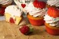 CUPCAKES ALLA FRAGOLA | ricetta san valentino