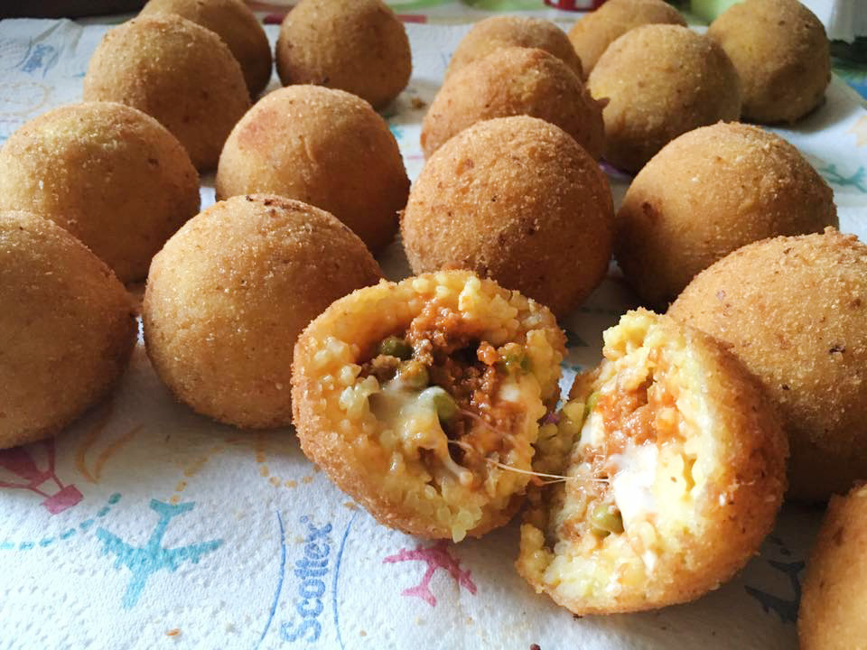 le arancine siciliane