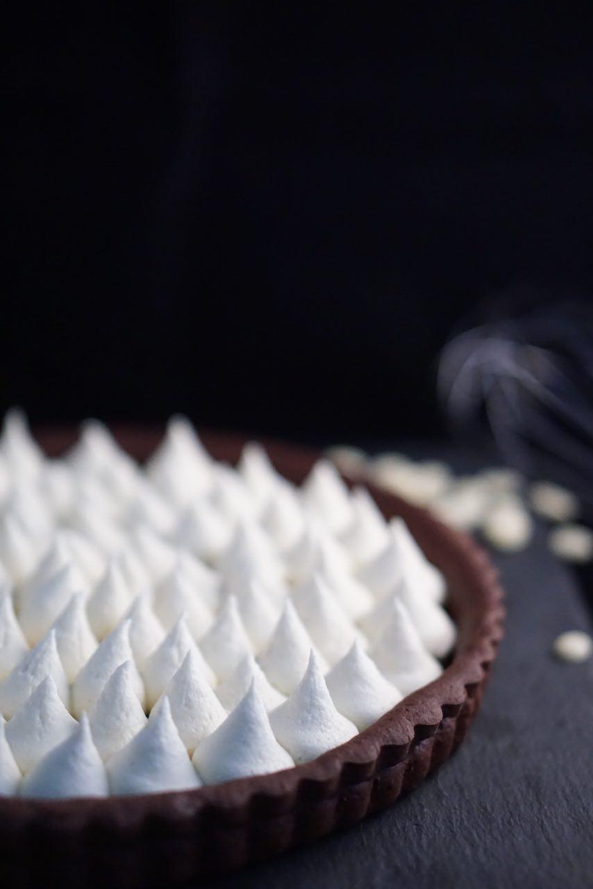 Crostata al Cacao e Cioccolato Bianco