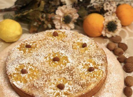 •Torta capovolta alle arance Vaniglia di Sicilia con carote e mandorle•