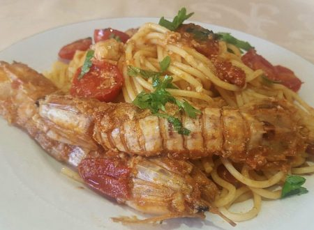 """Spaghetti alle """" Cicale"""" di mare"""