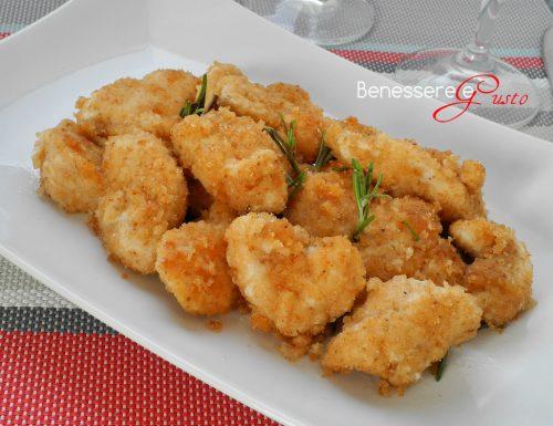 Bocconcini di pollo al forno ricetta light