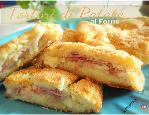 Tortini di patate al forno