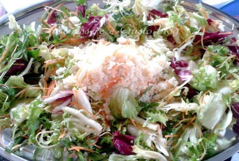 Couscous con insalata mista