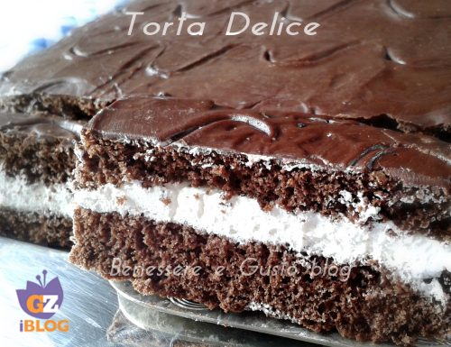 Torta Delice | Ricetta dolce al cioccolato