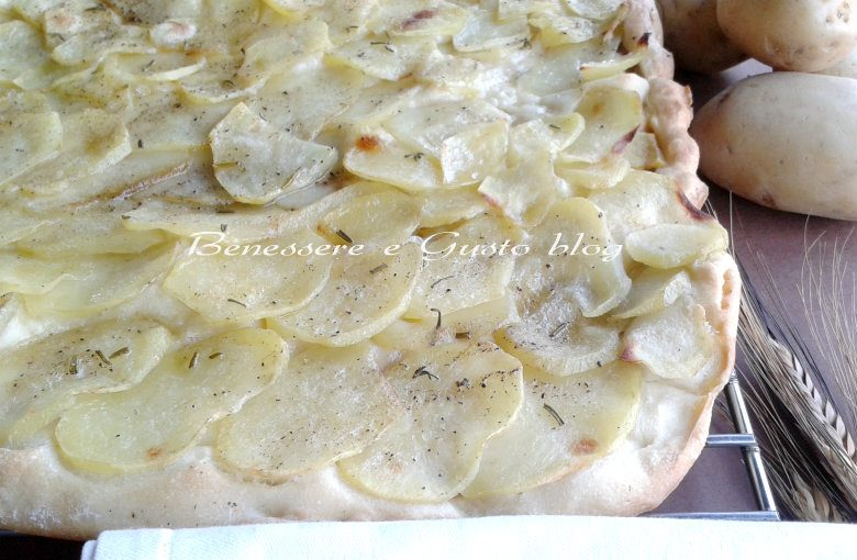 Pizza con le patate
