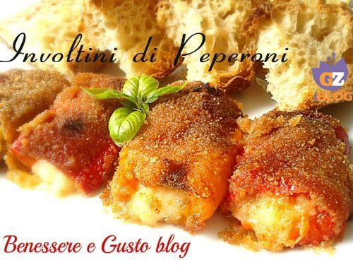 Involtini di Peperoni ricetta veloce