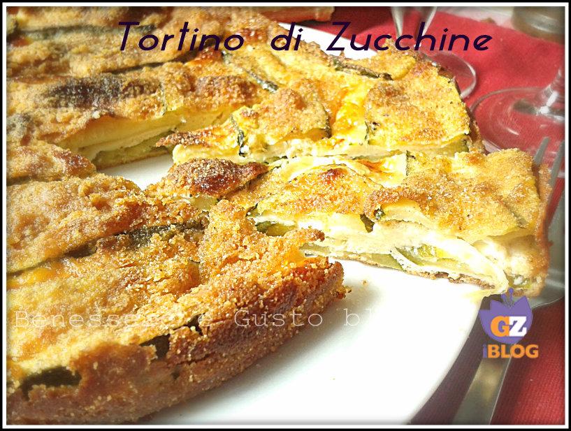 Tortino di zucchine al forno benessere e gusto blog for Cucinare zucchine al forno