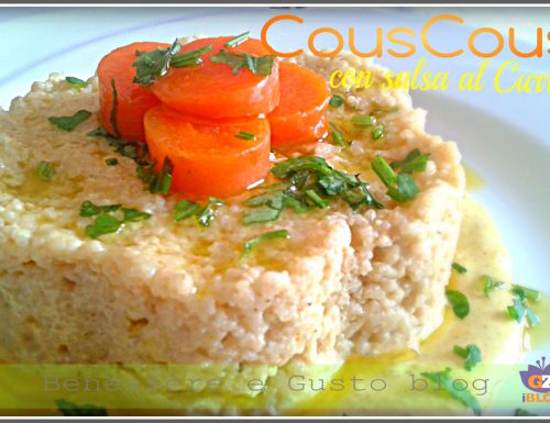 Couscous con salsa al Curry