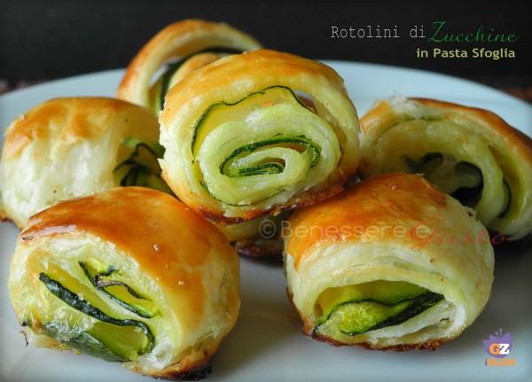 Rotolini di Zucchine in pasta sfoglia