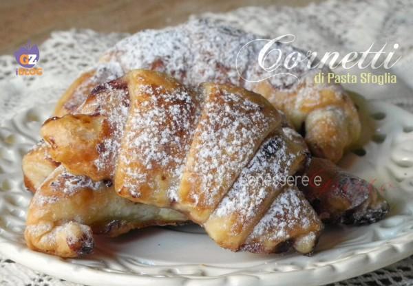 Cornetti di Pasta sfoglia dolci