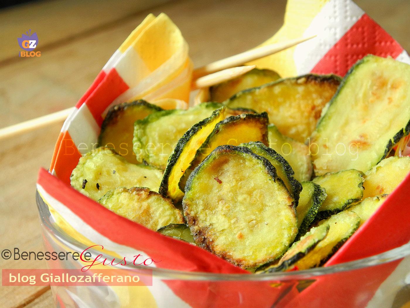 best sneakers 15bc6 ab881 Chips di Zucchine al forno | ricetta furba contorno light veloce