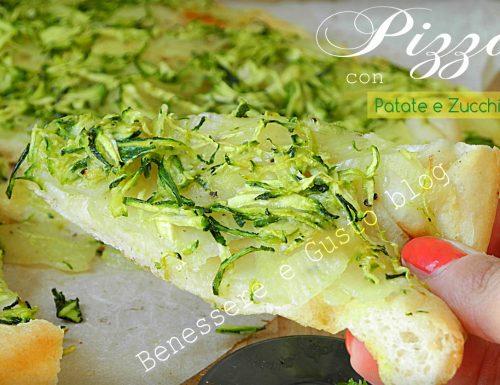 PIZZA CON PATATE E ZUCCHINE