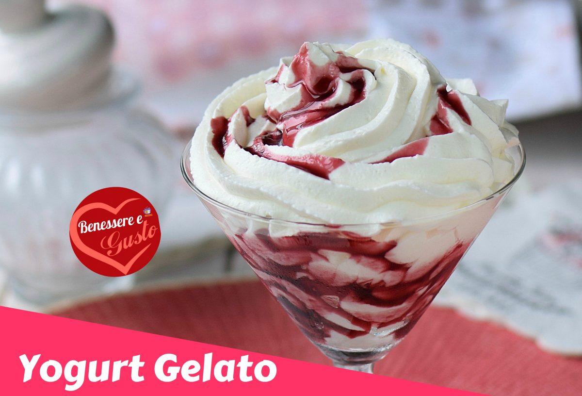 Gelato allo yogurt senza gelatiera