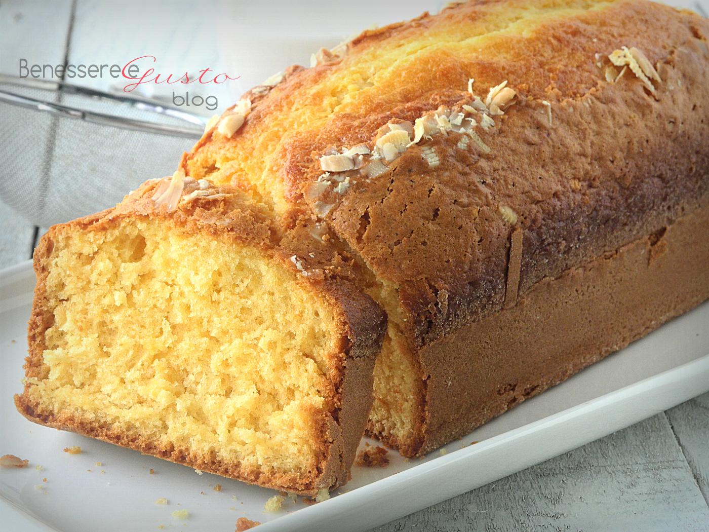 Estremamente Plumcake al Latte di Mandorla | Benessere e Gusto in cucina KV55