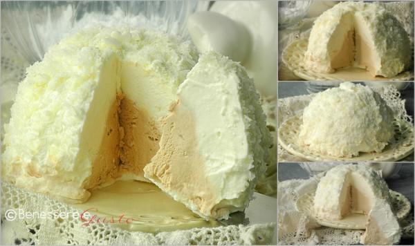 Dessert tartufo bianco al Caffé