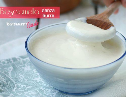 Besciamella senza Burro