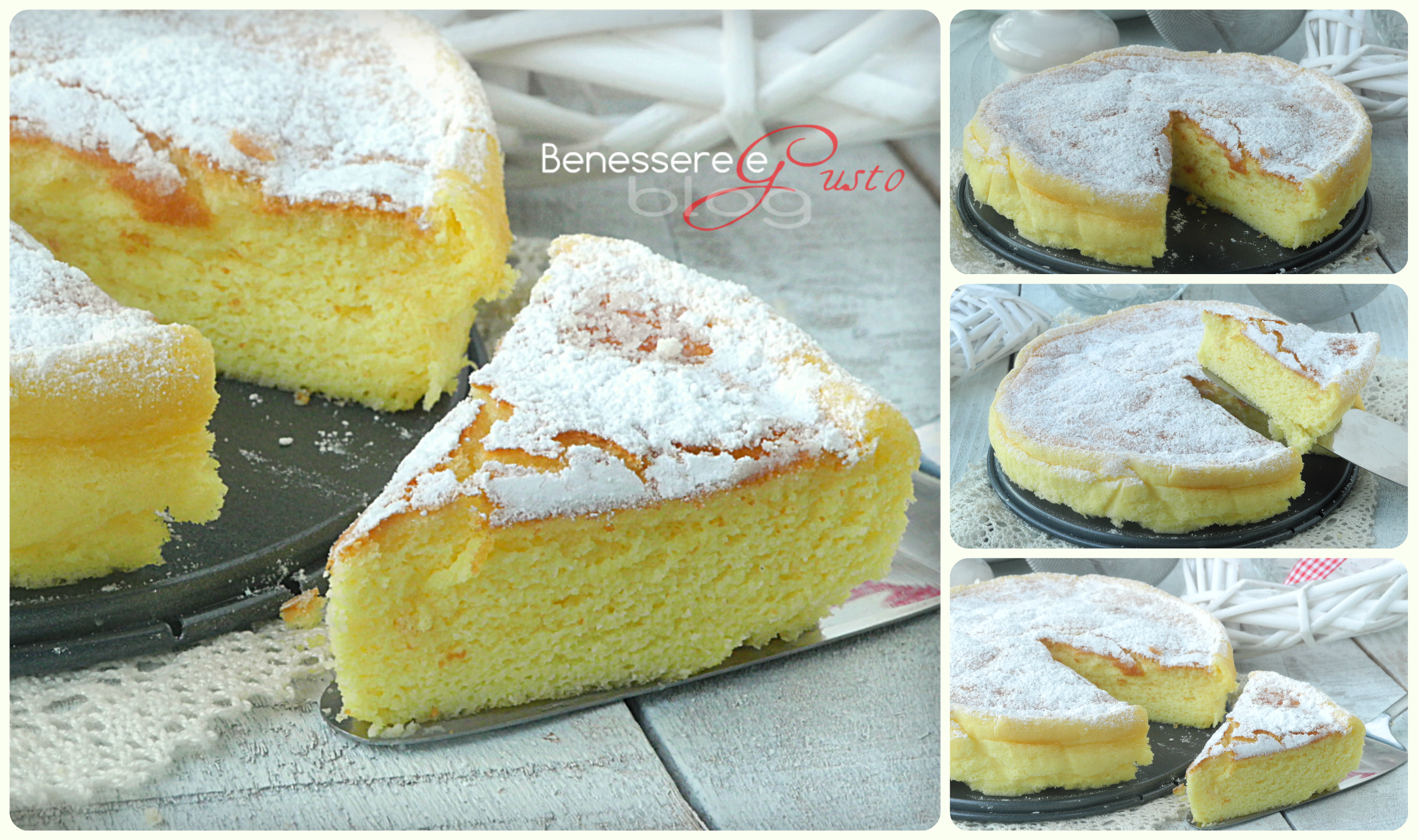 CHEESECAKE GIAPPONESE TRE INGREDIENTI