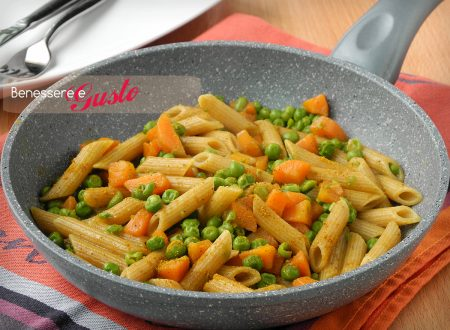 PASTA INTEGRALE CON VERDURE AL CURRY