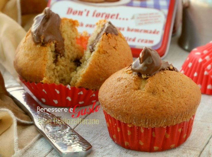 Moka Muffin alla Nutella