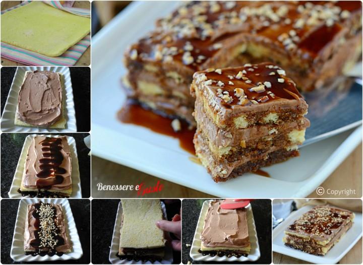 Nutella Cake al Caramello