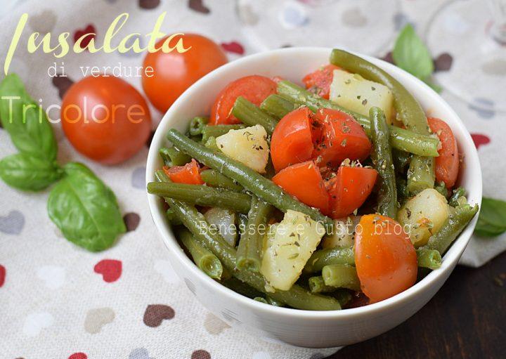 Insalata di verdure Tricolore