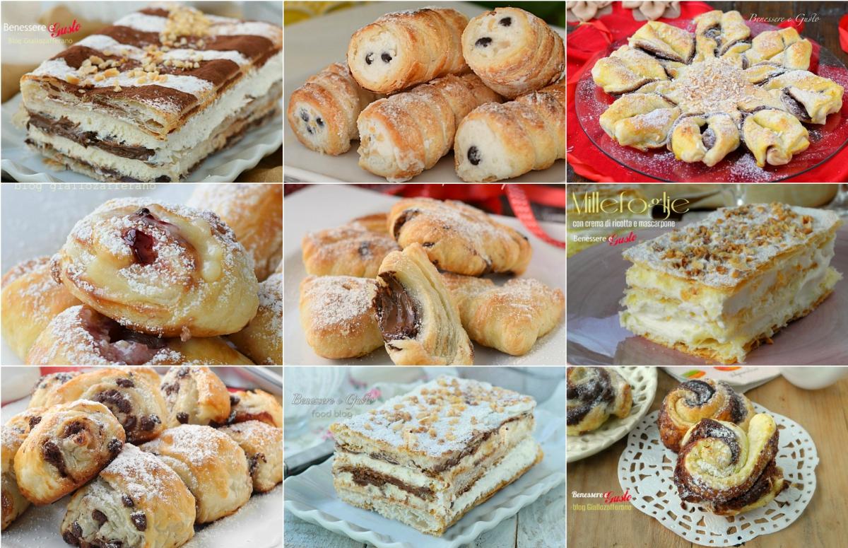 Ricette dolci con pasta sfoglia idee facili e veloci for Dolci ricette facili