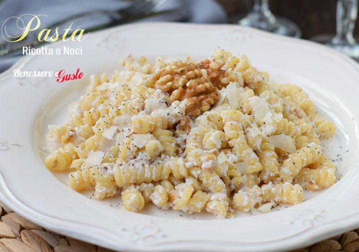 Pasta Ricotta e Noci Light