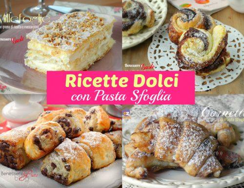 RICETTE DOLCI CON PASTA SFOGLIA
