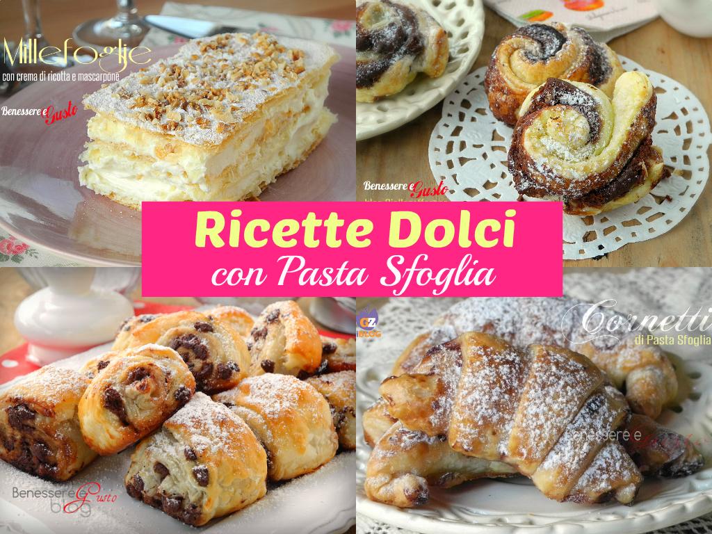 Ricette dolci con pasta sfoglia idee facili e veloci for Pasta ricette veloci