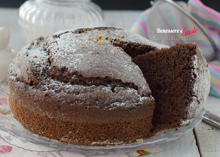 Torta Cacao senza Uova