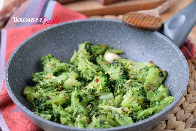 Broccoli in padella alla romana